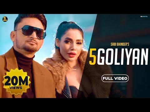 5 Goliyan : Sabi Bhinder (Full Video) The Kidd | Latest Punjabi Song | Jatt Life Studio