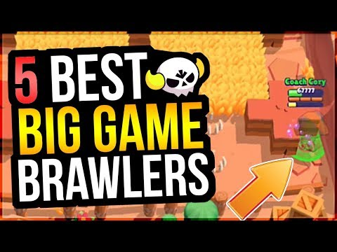 Boss Leon OP? NEW Big Game Map! 5 Best Brawlers For Hunting Party