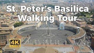 Video St. Peter's Basilica Walking Tour in 4K MP3, 3GP, MP4, WEBM, AVI, FLV November 2018