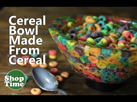 Cereal Bowl Made From Cereal | Dipit #21 Froot Loops Bowl!
