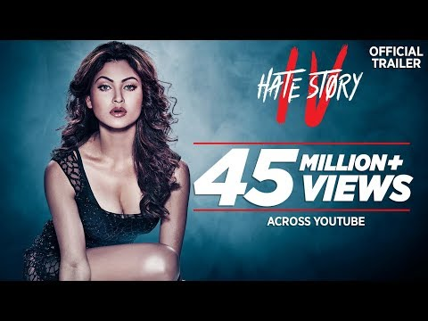 Hate Story four trailer of upcoming Bollywood