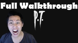 P.T. Full Walkthrough Part 1 Gameplay Let's Play Playthrough Review 1080p Ending