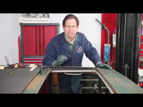 Testing and Trial Fitting Replacement Mercedes Sunroof Side Seals Part 2