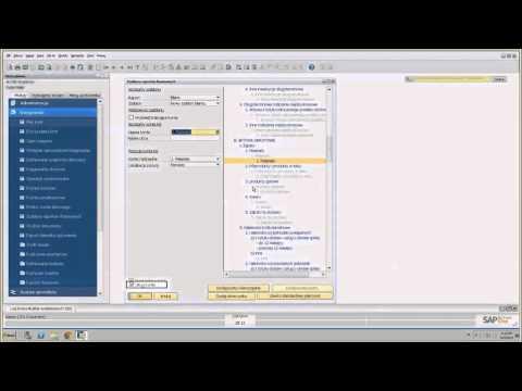 SAP Business One - Szablony Raportów Finansowych