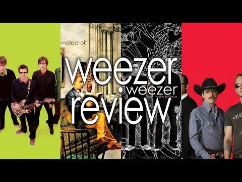 Weezer - Green, Maladroit, Make Believe & Red Album Review   GizmoCh