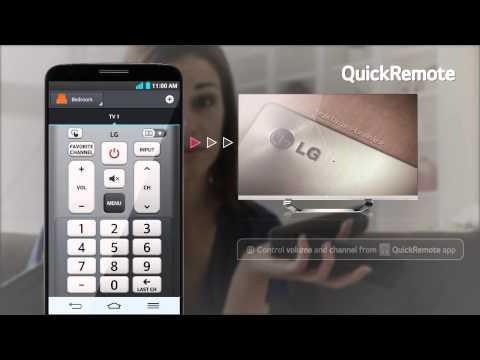 LG G2 - prezemtacja funkcji QuickRemote