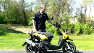 3. 2009 Yamaha Zuma 125