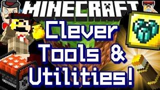 Minecraft SPECIAL BLOCKS&TOOLS! Mid-Air Blocks, Cursed Soil, Secret Glass&More!