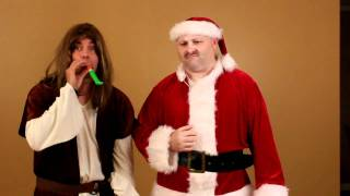 Santa vs Jesus Bloopers
