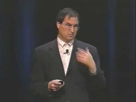 imac - Here we see Steve Jobs introducing the very first iMac in 1998.