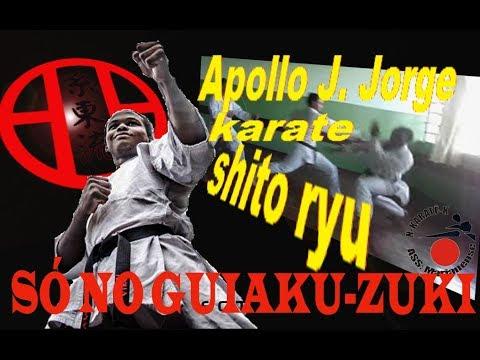 Karate em Santa Mariana treino de sábado Kumite usando só guiaku - zuki 4°treino com Apollo josuel