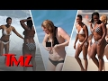 "Hot Convicts: The Ladies of ""Orange Is The New Black""  in Bikinis! 