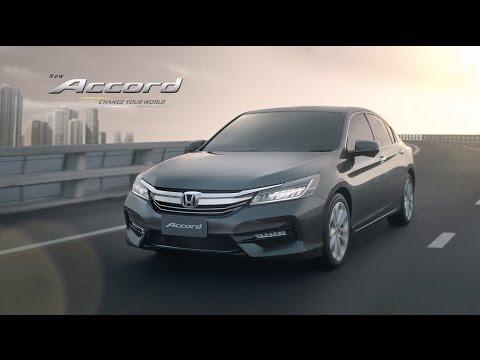 New Honda Accord 2016 – Change Your World TVC (45 sec.)