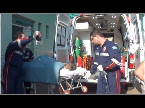 Troca de tiros em Palmeiras deixa suspeito de roubo e criança feridos 22/07/2013