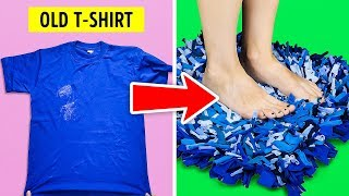 Video 20 NEW DIY IDEAS FOR YOUR OLD T-SHIRTS MP3, 3GP, MP4, WEBM, AVI, FLV Februari 2019