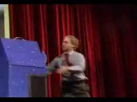 「人体切断マジックのタネあかし」のイメージ