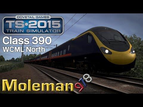 TS2015 | WCML North | Class 390 Pendolino