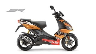 10. 2015 Aprilia SR50 Factory Sport Scooter