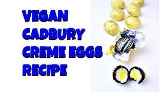 Vegan Cadbury Creme Eggs Recipe    Gretchen's Vegan Bakery by Gretchen's Bakery