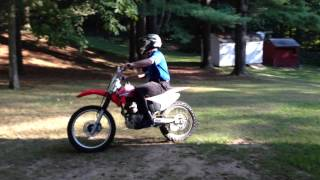 10. 2005 Honda CRF230 F Dirt Bike