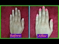 Get Salon Style Manicure at home with home / Natural  products   Step by Step in Hindi