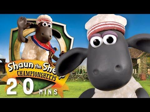 Shaun the Sheep - ChampionSheeps [20 MINUTE COMPILATION]