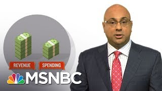 "When the United States spends more money than it takes in, there is a budget shortfall, or a ""deficit.""  To make up the difference, the federal government goes out and borrows money and runs up the public debt.  Politicians pay lip service to cutting deficits and debt, but almost never do.  Ali Velshi explains why.» Subscribe to MSNBC: http://on.msnbc.com/SubscribeTomsnbcAbout: MSNBC is the premier destination for in-depth analysis of daily headlines, insightful political commentary and informed perspectives. Reaching more than 95 million households worldwide, MSNBC offers a full schedule of live news coverage, political opinions and award-winning documentary programming -- 24 hours a day, 7 days a week.Connect with MSNBC OnlineVisit msnbc.com: http://on.msnbc.com/ReadmsnbcFind MSNBC on Facebook: http://on.msnbc.com/LikemsnbcFollow MSNBC on Twitter: http://on.msnbc.com/FollowmsnbcFollow MSNBC on Google+: http://on.msnbc.com/PlusmsnbcFollow MSNBC on Instagram: http://on.msnbc.com/InstamsnbcFollow MSNBC on Tumblr: http://on.msnbc.com/LeanWithmsnbcU.S. Budget Deficits: How Much Debt Is Too Much?  Velshi & Ruhle  MSNBC"