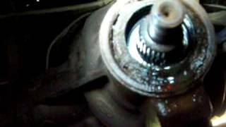6. Ford Ranger pinion seal replacement