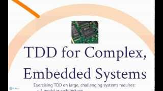 Test-Driven Development (TDD) for Complex Systems Introduction