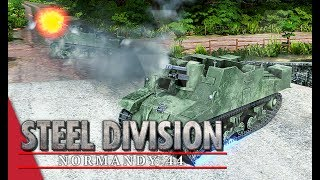 Enjoyed the video? Here's some more! ► https://goo.gl/vHwUWjSteel Division: Normandy 44 Playlist! ► https://goo.gl/uuBRTmYou can now support the channel on Patreon! ► https://www.patreon.com/vulcanhdgaming-----------------------------------------------------------Canadian Creeping Barrage! Steel Division: Normandy 44 Gameplay (Merderet, 3v3)-----------------------------------------------------------Hey guys,TIme to bring out the creeping barrage tactics again with the Sextons to help my troops move forwards.Deck Used: 3rd Canadian InfantryDeck Code: Fh9pcmrSasJt4Wyxa+JrQWvBbZFs8moha/FrsmpBajFrgW2xafFpoWlSaUFqgW0hbKFsEW0xabFrMmwyv0FswQ==Contact Me!Twitch: http://www.twitch.tv/vulcanhdgamingTwitter: https://twitter.com/vulcanhdgamingFacebook: https://www.facebook.com/vulcanhdgamingSteam: http://steamcommunity.com/groups/vulcanhdgamingPatreon: https://www.patreon.com/vulcanhdgamingPlayer.me: https://player.me/vulcanhdgamingMusic used: End Game by Per Kiilstoftehttps://machinimasound.com/music/end-gameLicensed under Creative Commons Attribution 4.0 International(http://creativecommons.org/licenses/by/4.0/)