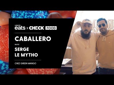 Caballero & Serge le Mytho (Jonathan Cohen) #CheckFood