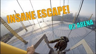 Video INSANE SECURITY ESCAPE!! O2 ARENA SUNRISE CLIMB MP3, 3GP, MP4, WEBM, AVI, FLV Maret 2019