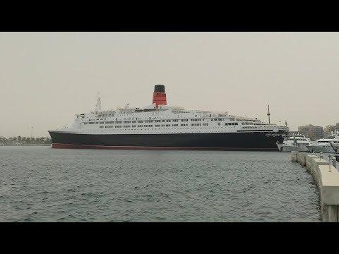 Queen Elizabeth 2 ship opens as hotel in Dubai | ITV News