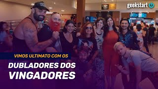 Cena Pós-Crédito dos VINGADORES no Kinoplex: Cinecon  GeekstartTV