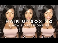 Unboxing + How I Order Hair Online ft Aliexpress Slovehair | South African YouTuber