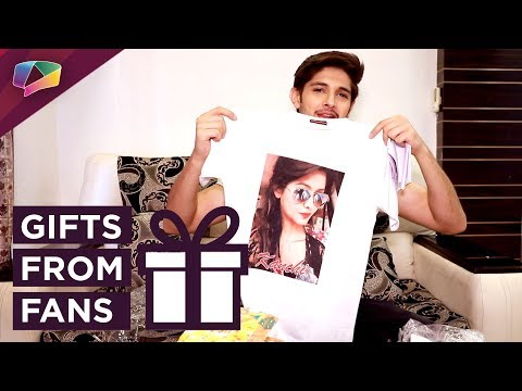 Rohan Mehra Receives Gifts From His Fans