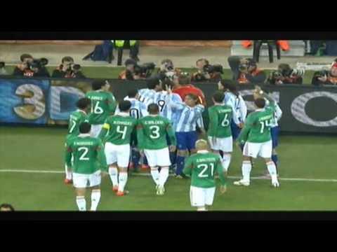 Sudafrica 2010: Argentina 3 - Mexico 1