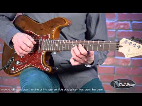 Fender Limited Edition Custom Shop Buckeye Stratocaster | N Stuff Music Product Review