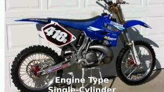 3. 2010 Yamaha YZ 250 -  Dealers Specs Features motorbike Specification Engine Top Speed