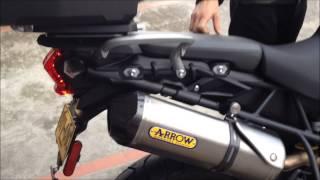 9. Triumph Tiger 800 XC Arrow Exhaust HD
