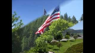 Bonners Ferry (ID) United States  city photos : Bonners Ferry Idaho Veterans Memorial Park American Flag