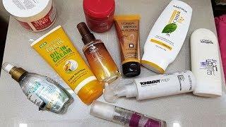 Products mentioned In OrderBed Head Urban Anti+dotes Resurrection Treatment Mask https://goo.gl/ABp8NQWella ProfessionalsTreatment for Colored Hair https://goo.gl/FqomNzL'Oreal Paris Hair Expertise Oil Replacement Cream https://goo.gl/RcVjjLLOREAL PROFESSIONAL TECNI ART HOT STYLE IRON FINISH https://goo.gl/DgxSmpOrganix Nourishing Coconut Oil Weightless Hydrating Oil Misthttps://goo.gl/y4aEvjMatrix Biolage Smoothproof Shampoo https://goo.gl/8ekNS6Garnier Fructis Oil-In-Cream  https://goo.gl/xw7aDKWella Professionals Oil Reflections Smoothing Oil https://goo.gl/k1WPN6Wella Professionals EIMI Shimmer Delight Finishing Glossy Sprayhttps://goo.gl/DgdsaVToni&Guy Heat Protection Mist : High Temperature Protectionhttps://goo.gl/WQen8b-------------------------------------------- •My Equipment• Camera used: https://goo.gl/aow3ezTripod: https://goo.gl/LYTBHmSoftbox: https://goo.gl/iqWq8K Mic: https://goo.gl/XNCVJtBackdrop stand: https://goo.gl/eKTqQBFollow Me On my Social Media For Updates https://www.instagram.com/misha.chawla/