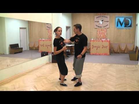 Буги-Вуги - социальный танец. Обучающее онлайн видео.