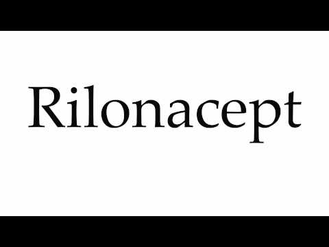 How to Pronounce Rilonacept