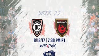 Two Western Conference teams looking to grab a spot in the playoffs faced off at Champions Soccer Stadium at OC Great Park.