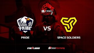 PRIDE vs Space Soldiers, overpass, Binary Dragons csgopolygon Season 1