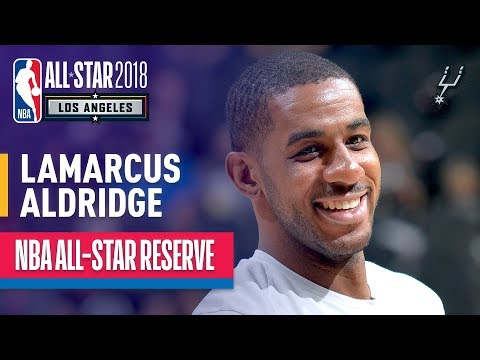 Video: LaMarcus Aldridge All-Star Reserve | Best Highlights 2017-2018
