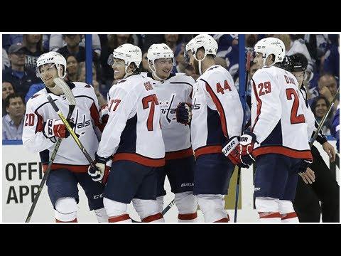 Capitals crush Lightning, head back to Washington up 2-0