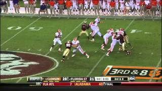 Tajh Boyd vs Florida State (2012)