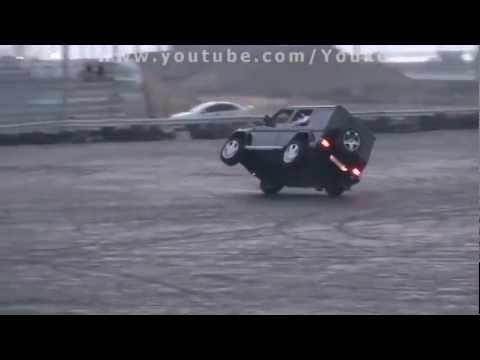 G55- 2 wheels driving master-class